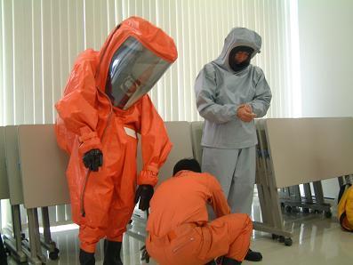 硫化水素災害対応訓練